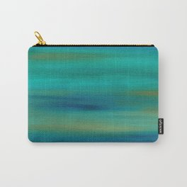 Abstract Acylic Carry-All Pouch
