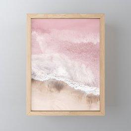 Pink Sea Framed Mini Art Print