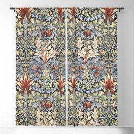 Snakeshead (1876-1877) by William Morris Blackout Curtain