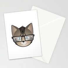 Tabby Glasses Stationery Cards
