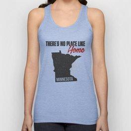 No place like home - Minnesota Unisex Tank Top