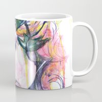 poison ivy Mugs featuring Poison Ivy by Lauralouisa
