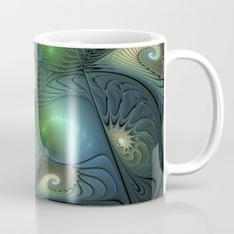 Where Spirals Live Coffee Mug