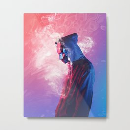 Roken Metal Print
