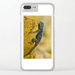 Eidechse Clear iPhone Case