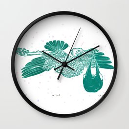 The Stork Wall Clock