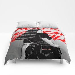 Faster, Pussycat! Kill! Kill! Artwork  Comforters