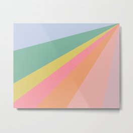 Sweet Rainbow Road Metal Print