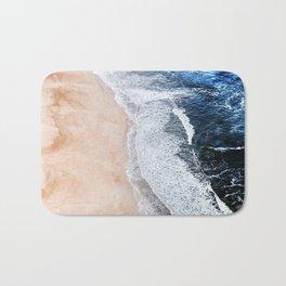 Salty Paths of Waves Bath Mat