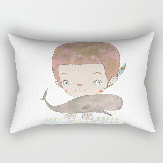 Extinction - SAVE SAFE Rectangular Pillow