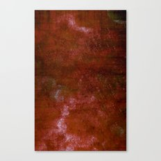 Bloody Grungy Canvas Print