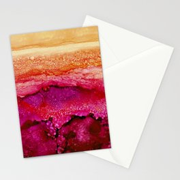Raspberry Hills, Tangerine Sky Stationery Cards