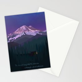 Mt. Rainier Wilderness Stationery Cards