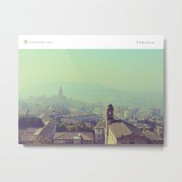 Pantone: Perugia Metal Print