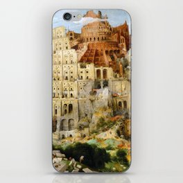 The Tower Of Babel iPhone Skin