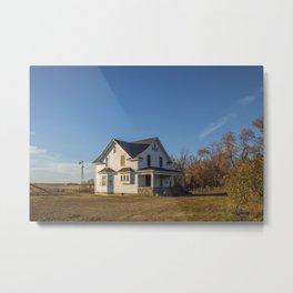 Beautiful House, Chaseley, North Dakota 1 Metal Print