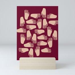 Hand in Hand Mini Art Print