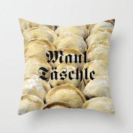 Maultäschle - Fight the Epidemic Throw Pillow