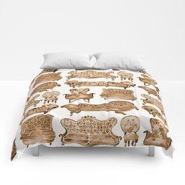 Victorian Lounge – Sepia Palette Comforters