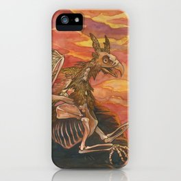Lord of the Sunset Cliffs iPhone Case