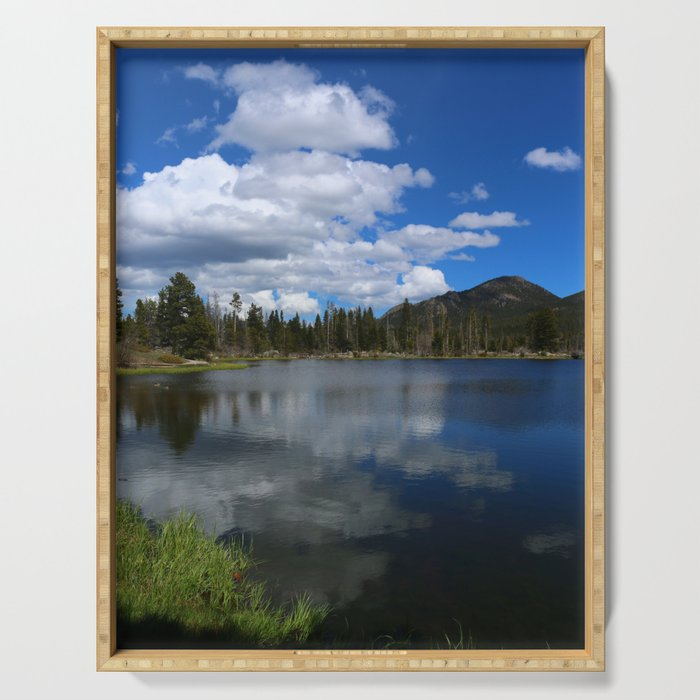 Sprague Lake Reflection Serving Tray
