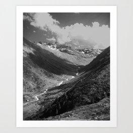 Winter in the Summer Art Print