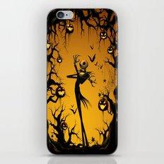 Nightmare HALLOWEEN jack iPhone & iPod Skin