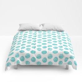 Pallini light turquoise green Comforters