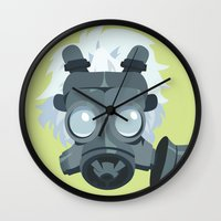 dmmd Wall Clocks featuring Clear. by Dani Does Art