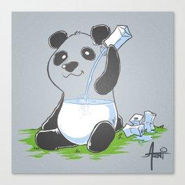 Panda in my FILLings Canvas Print