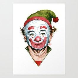Murray the Clown Art Print