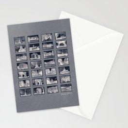 France Collage Negatives Stationery Cards