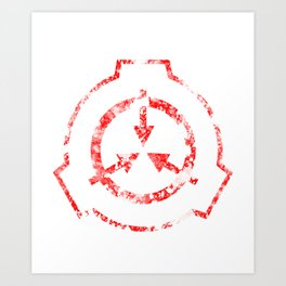 SCP Foundation Symbol Art Print