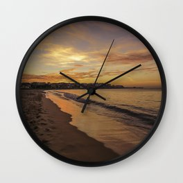 Last light on the Port Wall Clock