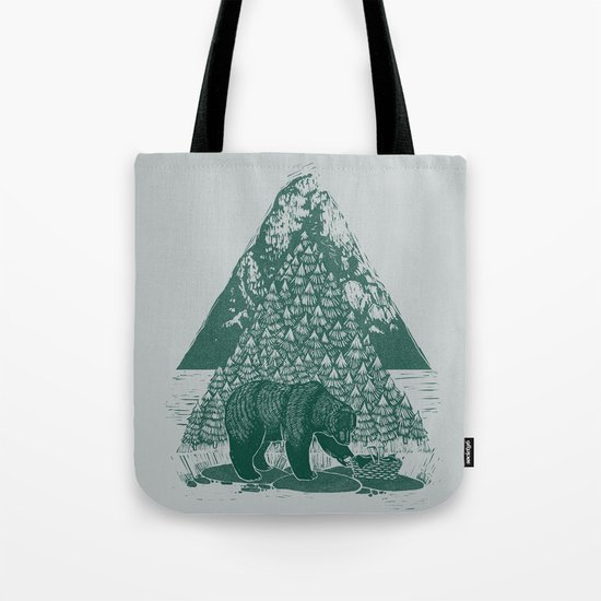 Teddy Bear Picnic Tote Bag