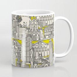 Hong Kong toile de jouy chartreuse Coffee Mug