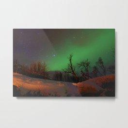 Norway lights 1 Metal Print
