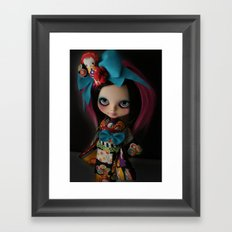 MODERN GEISHA CUSTOM BLYTHE DOLL KENNER  Framed Art Print