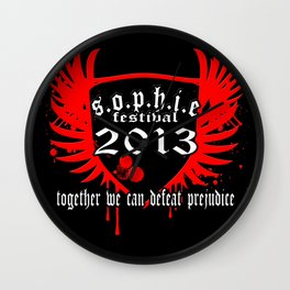 Sophie Festival 2013 - Limited Edition Shirt Wall Clock