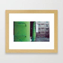 Tumbling Down Framed Art Print