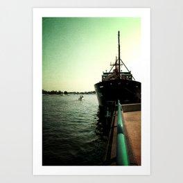 Coast Guard Festival Ship Art Print