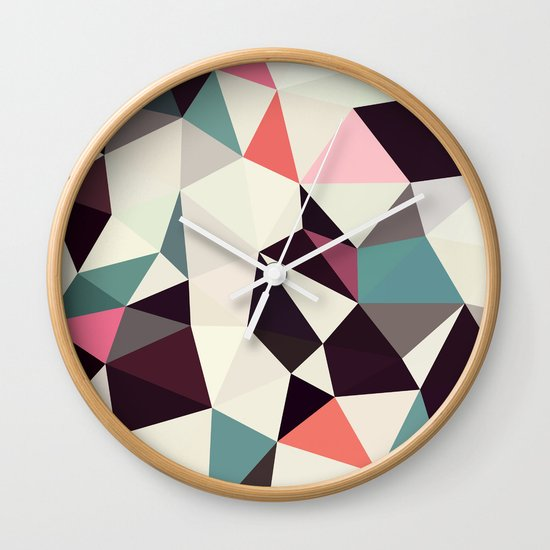 Retro Tris Light Wall Clock