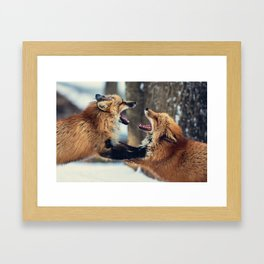 Ultimate Foxing Championship Framed Art Print