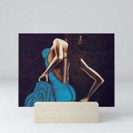 Turquoise Beauty Mini Art Print