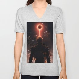 Soul of Cinder Dark souls Unisex V-Neck