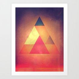 3try Art Print