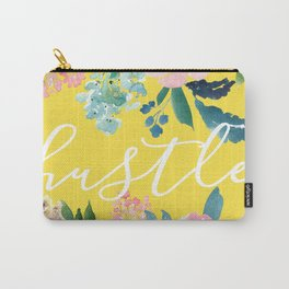 Hustle Yellow Peonies Carry-All Pouch