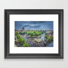 Chhatrapati Shivaji Terminus 1 Framed Art Print