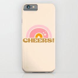 cheery cheers iPhone Case