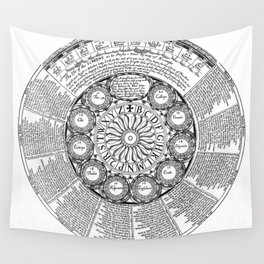 The Screene of Fortune Wall Tapestry